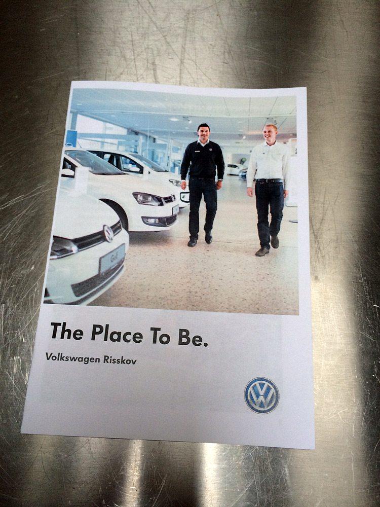 Reklamefoto Volkswagen