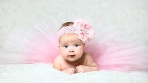 baby julefoto