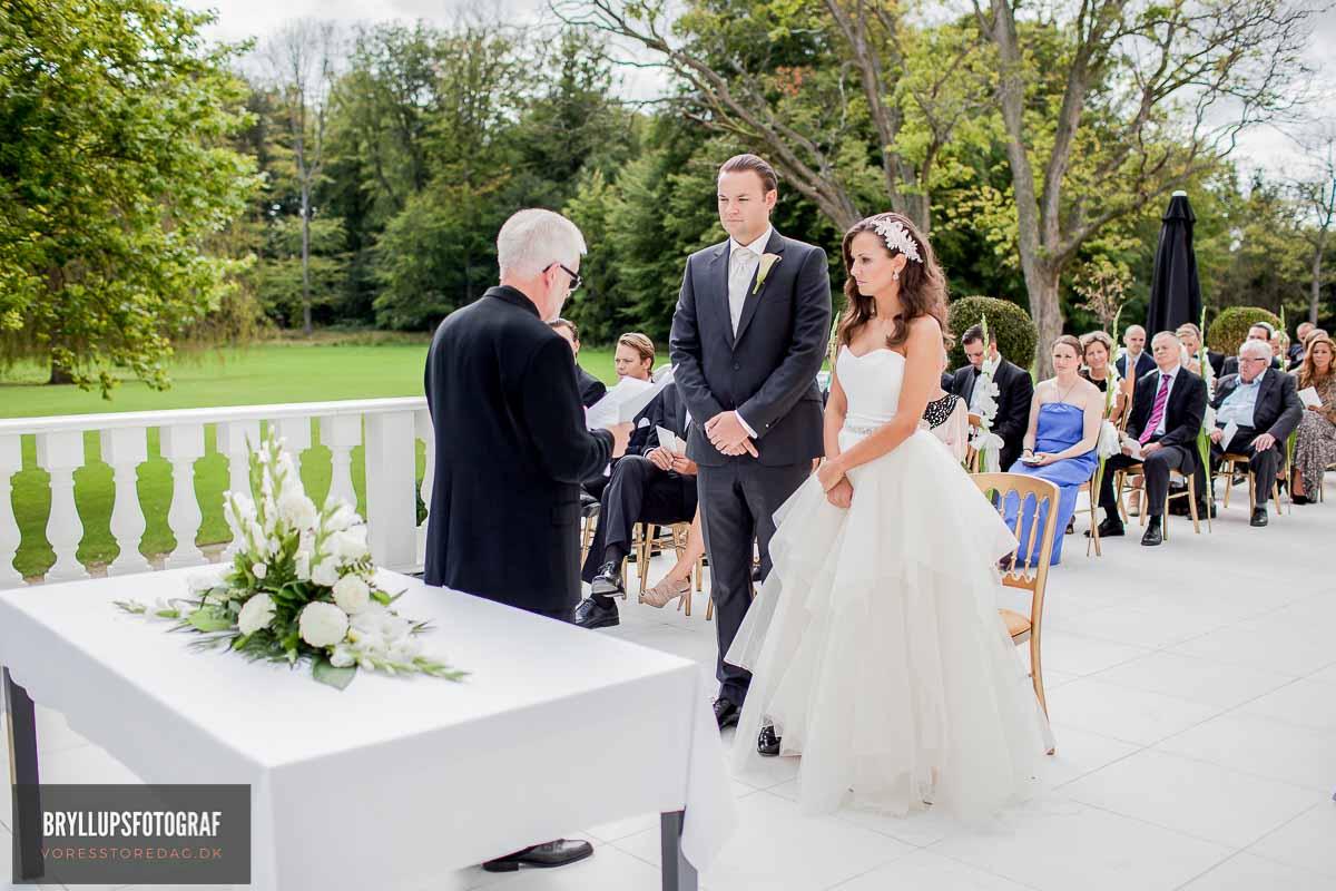 klassiske bryllupsportrætter Vejle