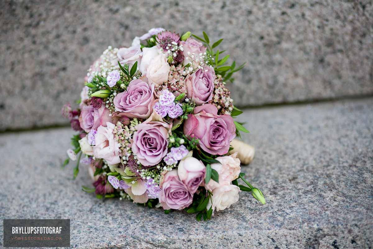brudebuketten bryllup esbjerg