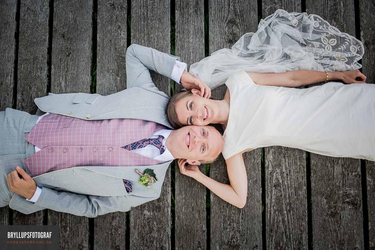 Vejle portrætfotos ved bryllup
