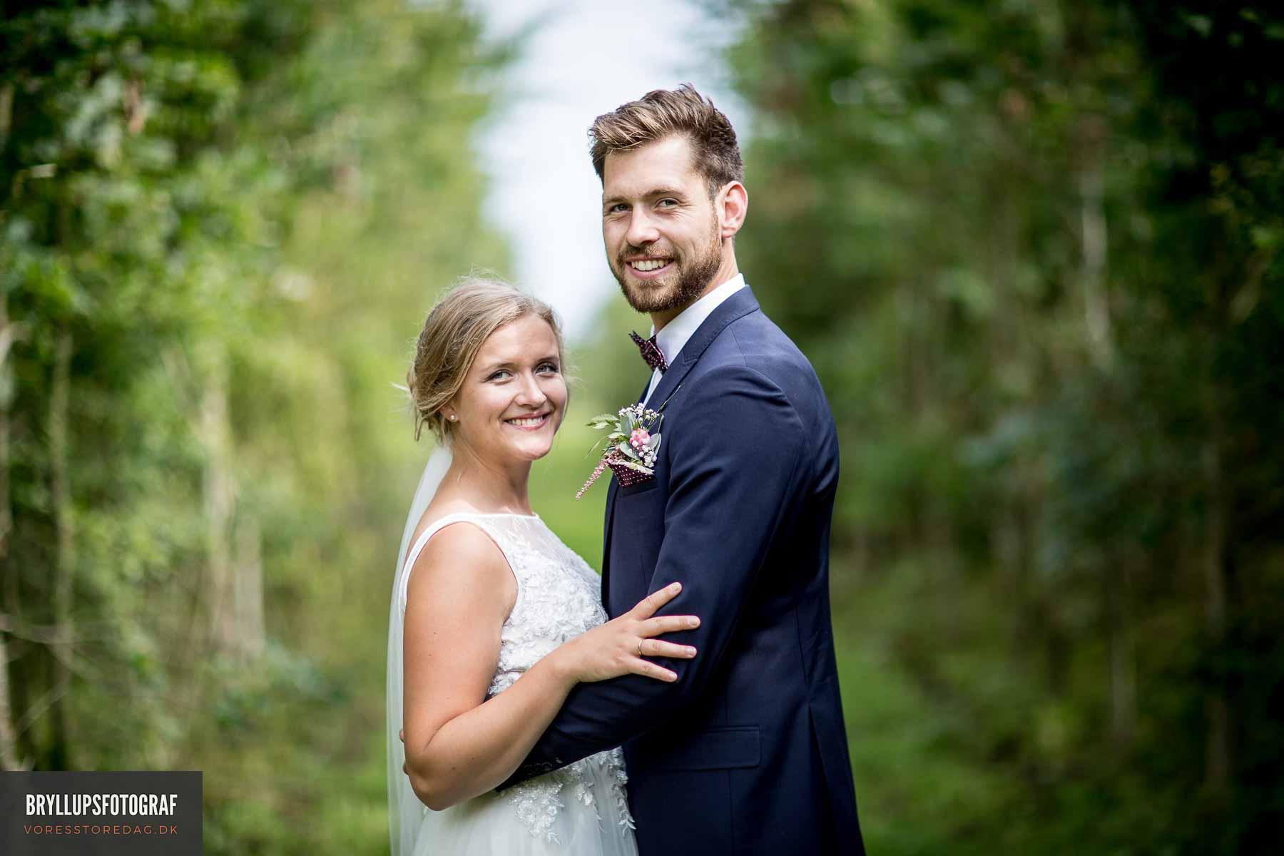 brudepar Vejle
