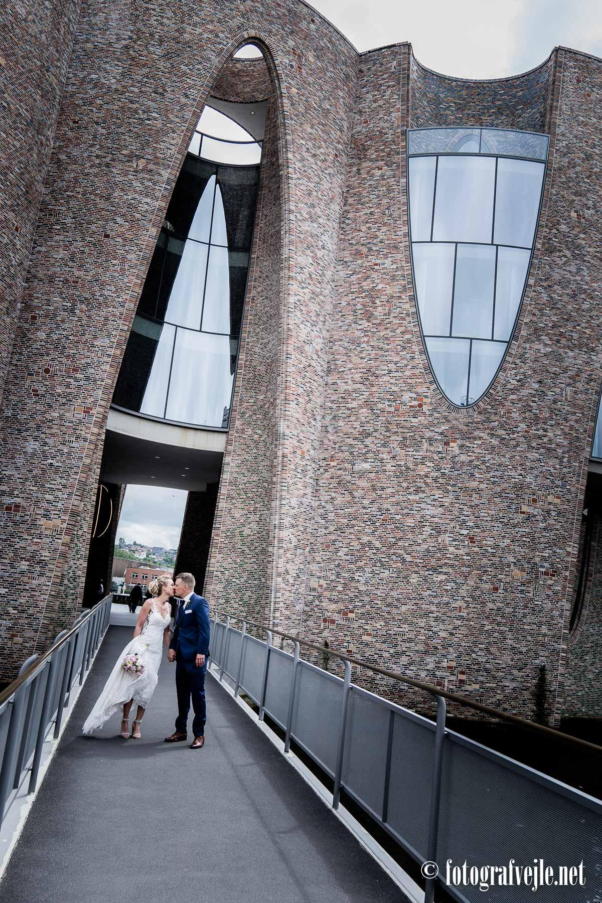 Bryllupsfoto Vejle Havn