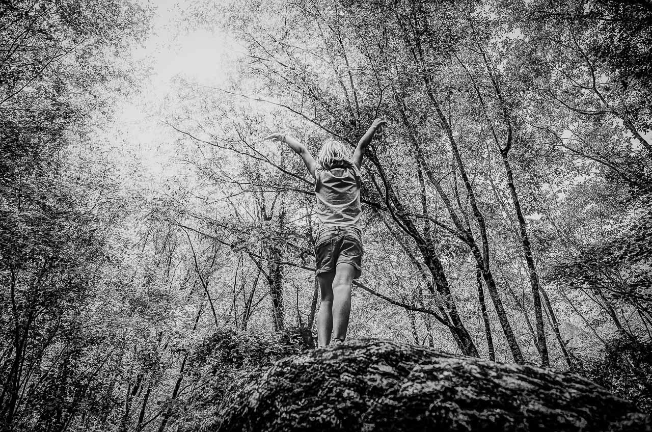 Billeder af børn i Trekantsområdet